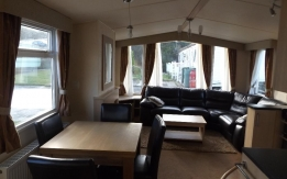 Double glazed and central heated caravan in prime location